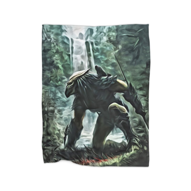 Predator Home Blanket by EvoComicsInc's Artist Shop