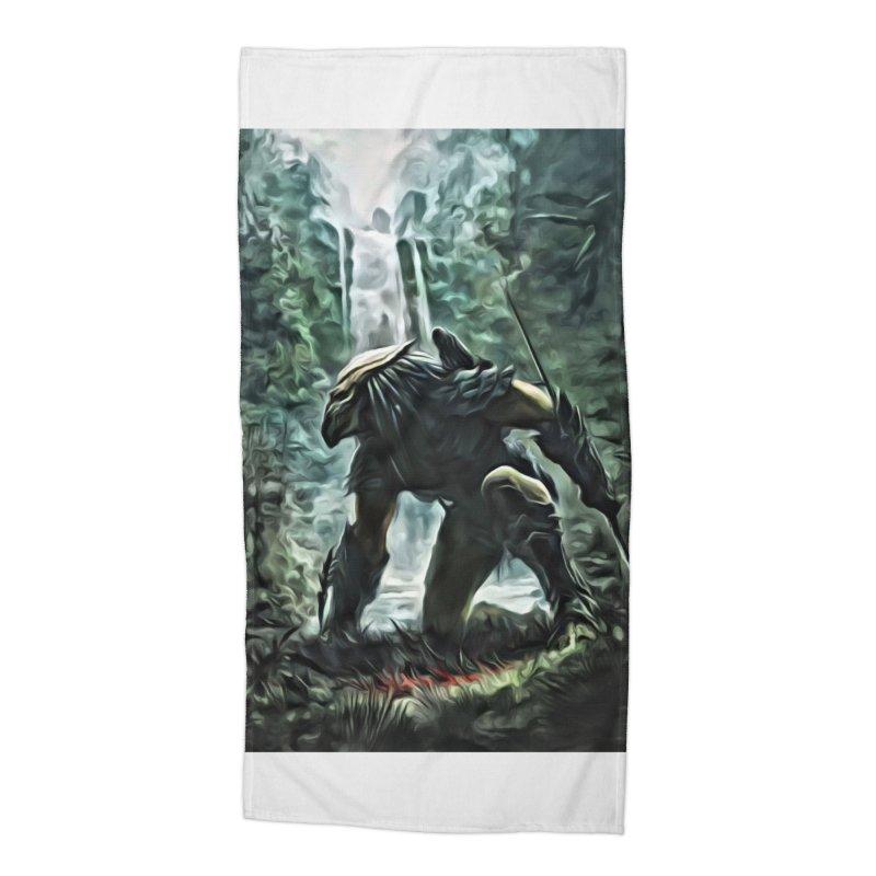Predator Accessories Beach Towel by EvoComicsInc's Artist Shop