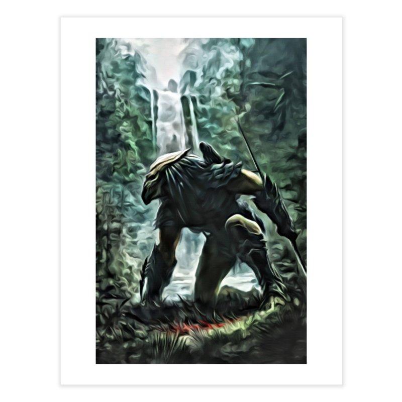 Predator Home Fine Art Print by EvoComicsInc's Artist Shop