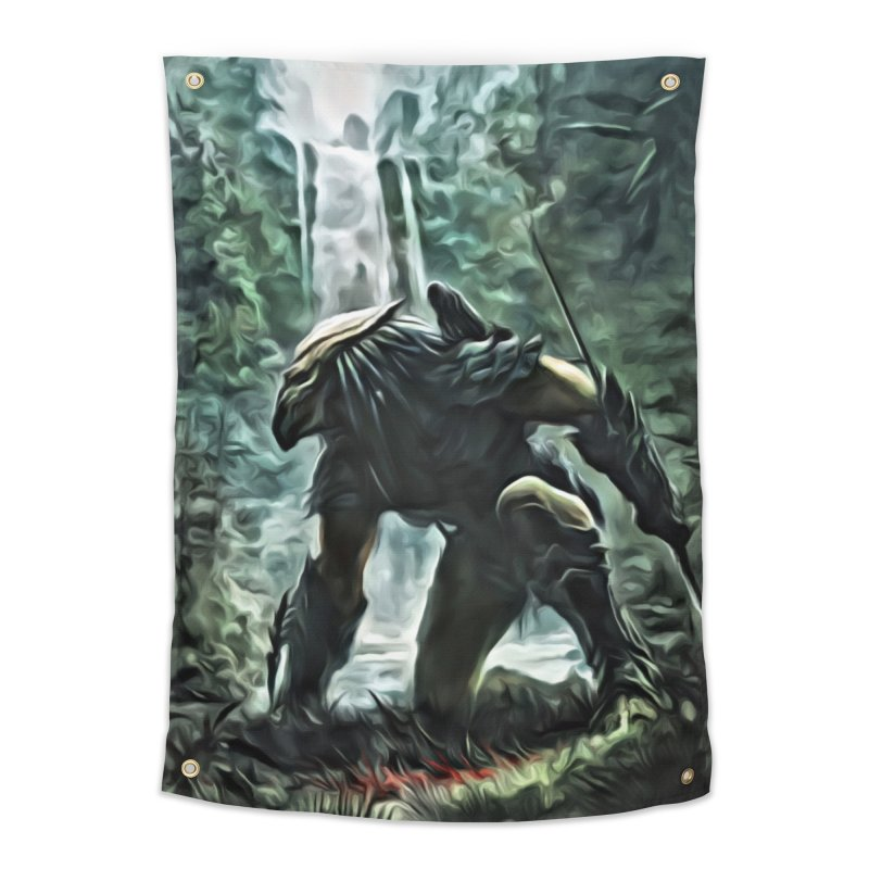 Predator Home Tapestry by EvoComicsInc's Artist Shop