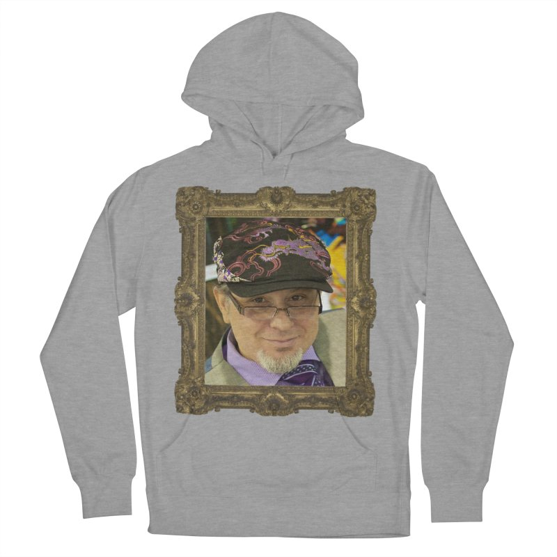 Tommy Castillo Framed Women's French Terry Pullover Hoody by EvoComicsInc's Artist Shop