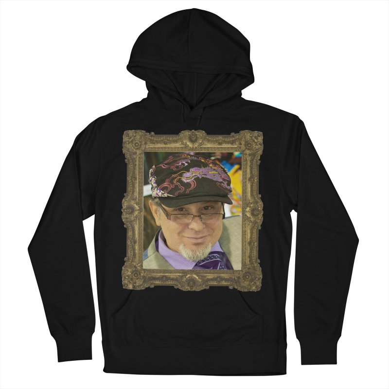 Tommy Castillo Framed Men's French Terry Pullover Hoody by EvoComicsInc's Artist Shop