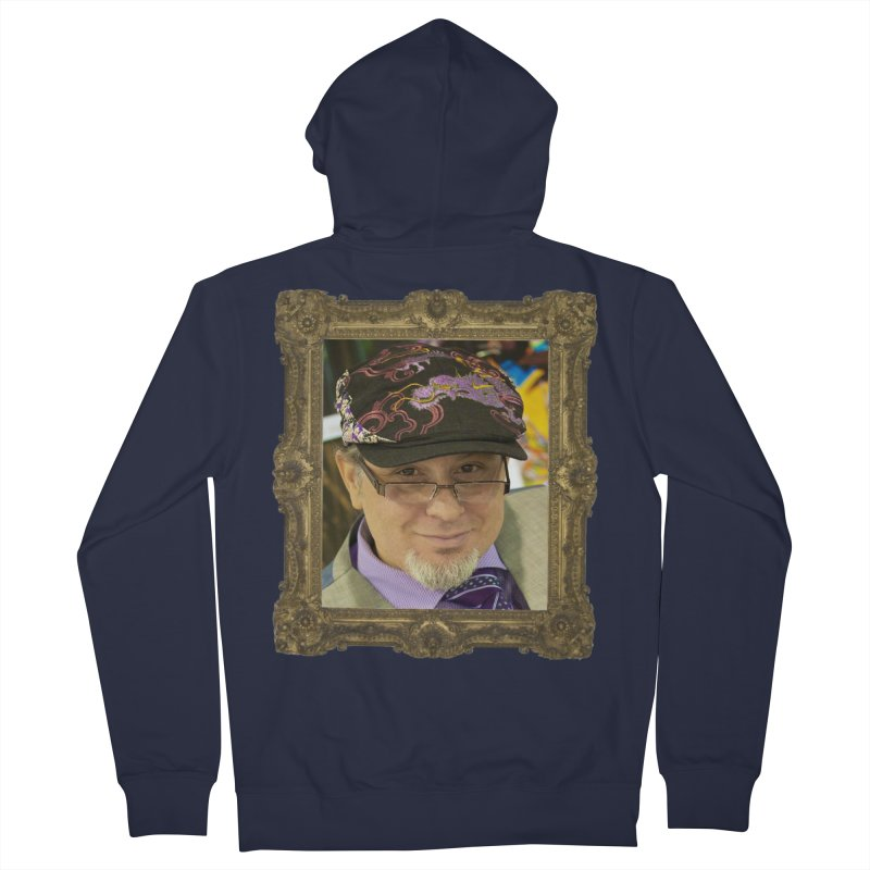 Tommy Castillo Framed Men's French Terry Zip-Up Hoody by EvoComicsInc's Artist Shop
