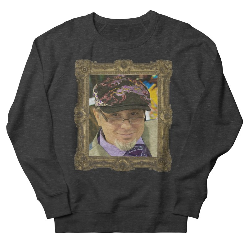 Tommy Castillo Framed Men's French Terry Sweatshirt by EvoComicsInc's Artist Shop