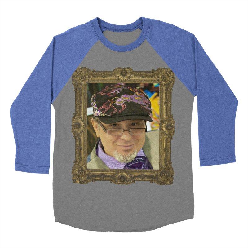 Tommy Castillo Framed Women's Baseball Triblend T-Shirt by EvoComicsInc's Artist Shop