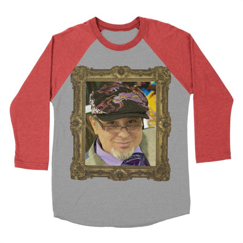 Tommy Castillo Framed Women's Baseball Triblend Longsleeve T-Shirt by Evolution Comics INC
