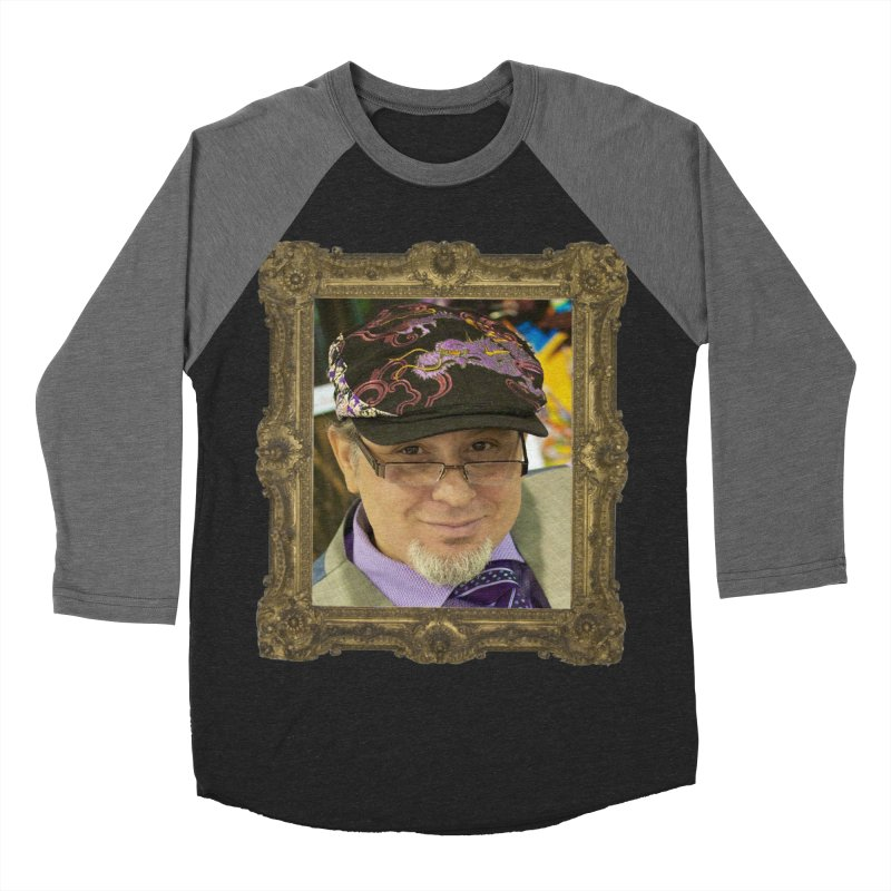Tommy Castillo Framed Women's Baseball Triblend Longsleeve T-Shirt by EvoComicsInc's Artist Shop