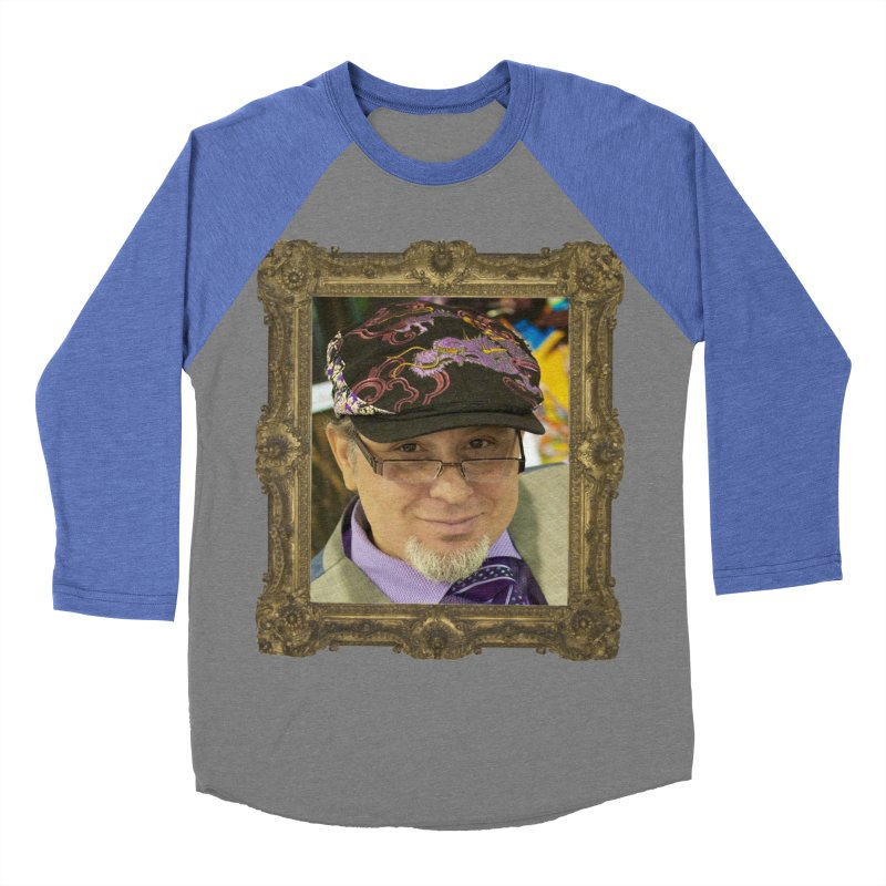 Tommy Castillo Framed Men's Baseball Triblend Longsleeve T-Shirt by Evolution Comics INC