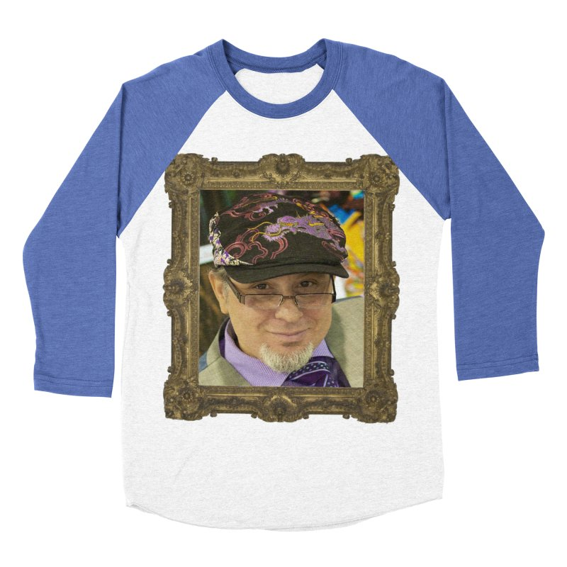 Tommy Castillo Framed Men's Baseball Triblend Longsleeve T-Shirt by EvoComicsInc's Artist Shop