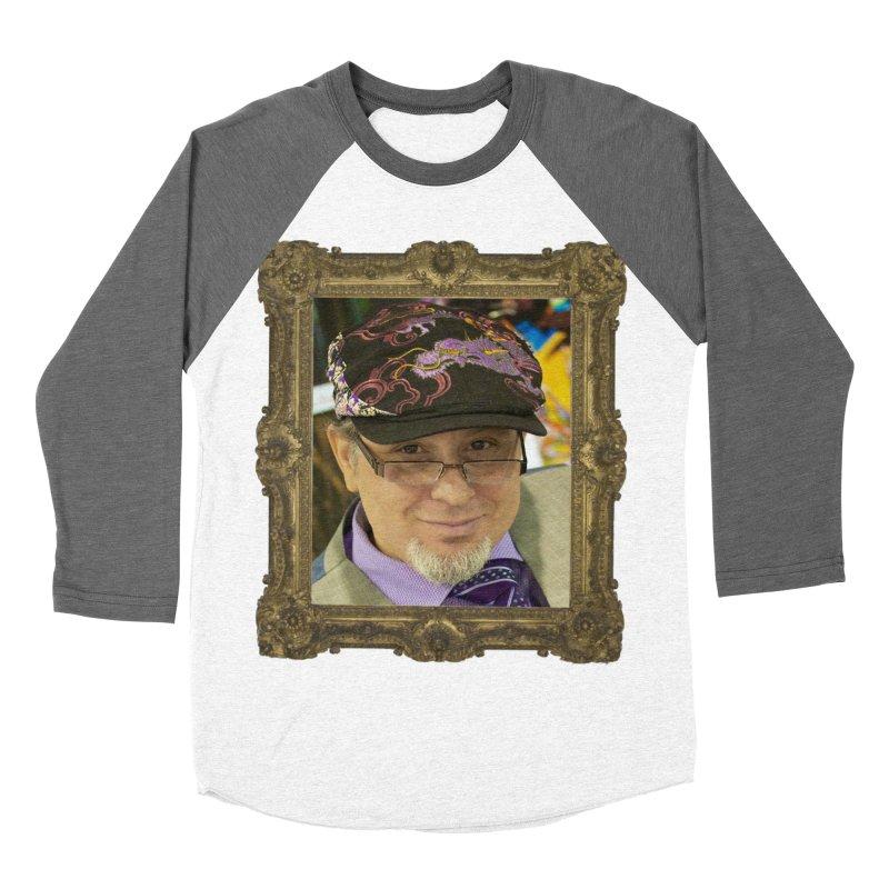 Tommy Castillo Framed Men's Baseball Triblend Longsleeve T-Shirt by EvoComicsInc's Artist Shop
