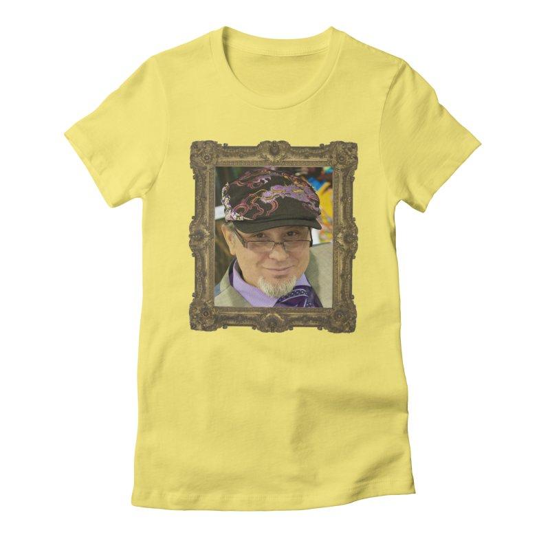 Tommy Castillo Framed Women's Fitted T-Shirt by EvoComicsInc's Artist Shop