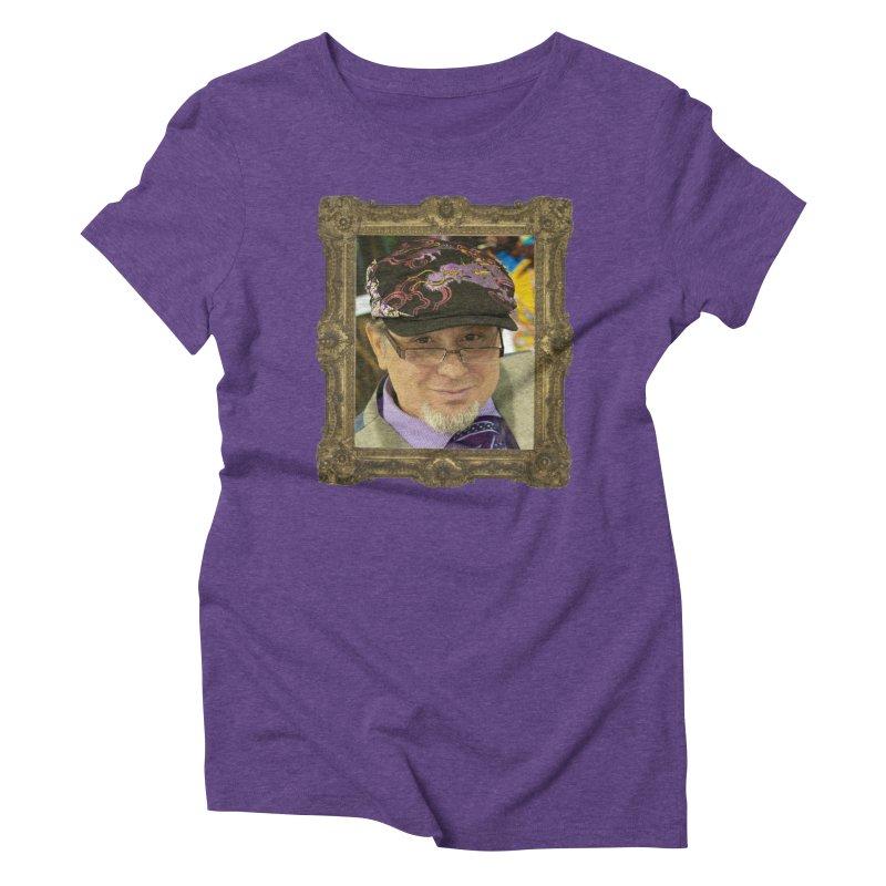 Tommy Castillo Framed Women's Triblend T-Shirt by EvoComicsInc's Artist Shop