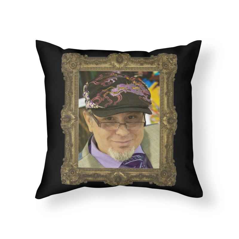 Tommy Castillo Framed Home Throw Pillow by EvoComicsInc's Artist Shop