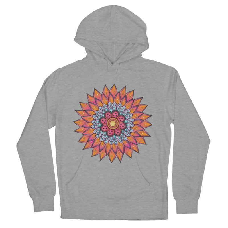 Loyal Lotus Women's French Terry Pullover Hoody by EvoComicsInc's Artist Shop