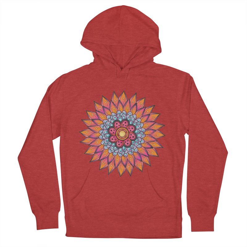 Loyal Lotus Men's French Terry Pullover Hoody by EvoComicsInc's Artist Shop