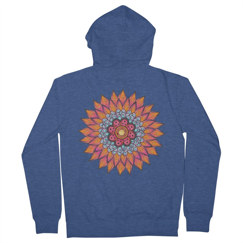 Loyal Lotus Women's French Terry Zip-Up Hoody by EvoComicsInc's Artist Shop