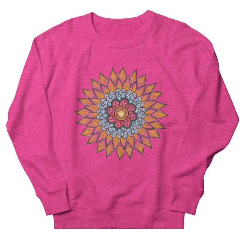 Loyal Lotus Women's French Terry Sweatshirt by EvoComicsInc's Artist Shop