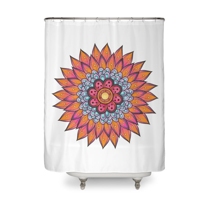 Loyal Lotus Home Shower Curtain by EvoComicsInc's Artist Shop