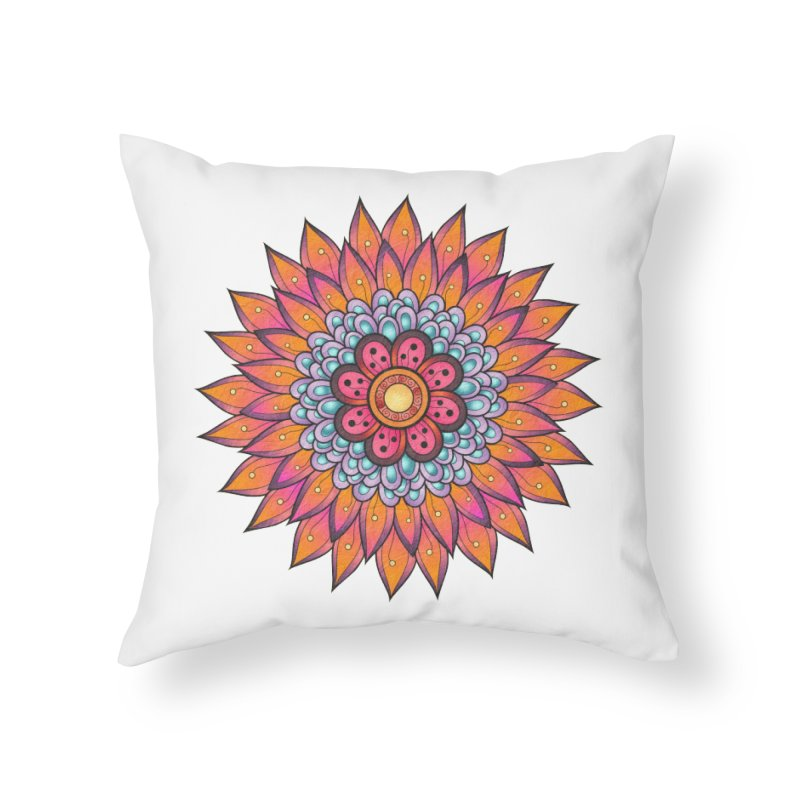 Loyal Lotus Home Throw Pillow by EvoComicsInc's Artist Shop
