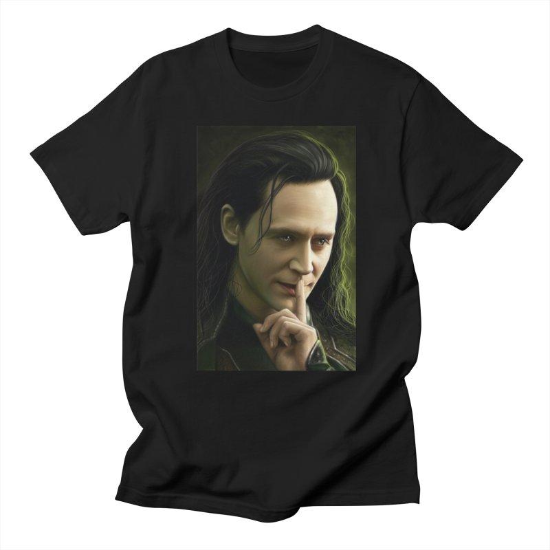 Marvel Loki Shhhhh Women's  by EvoComicsInc's Artist Shop