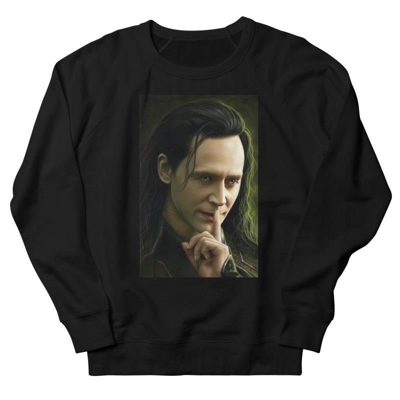 Marvel Loki Shhhhh Men's Sweatshirt by EvoComicsInc's Artist Shop