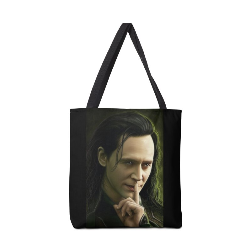 Marvel Loki Shhhhh Accessories Bag by EvoComicsInc's Artist Shop
