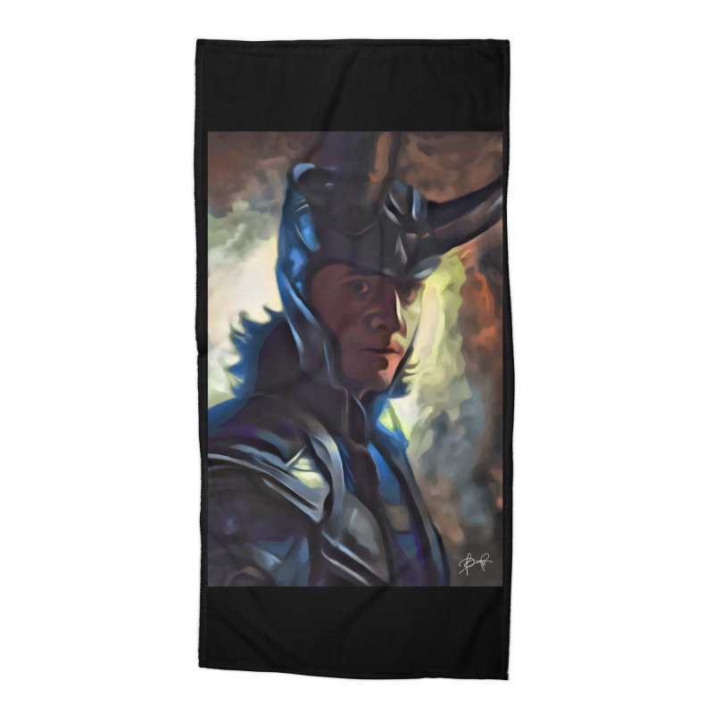 Marvel Loki Accessories Beach Towel by EvoComicsInc's Artist Shop