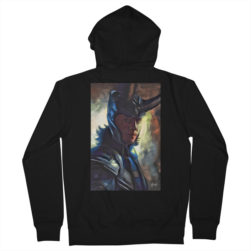 Marvel Loki Women's French Terry Zip-Up Hoody by EvoComicsInc's Artist Shop