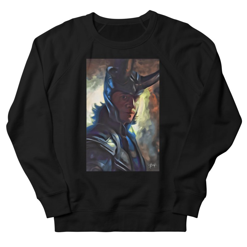 Marvel Loki Women's French Terry Sweatshirt by EvoComicsInc's Artist Shop
