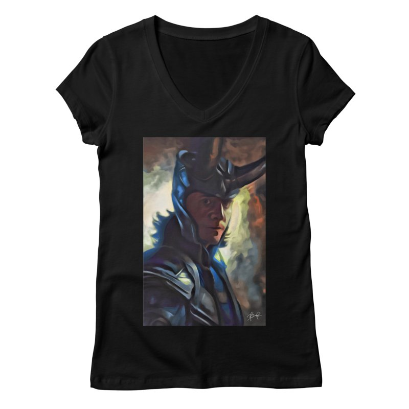 Marvel Loki Women's V-Neck by EvoComicsInc's Artist Shop