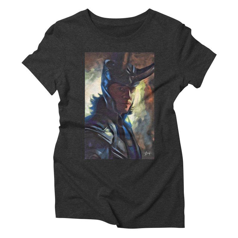 Marvel Loki Women's Triblend T-Shirt by EvoComicsInc's Artist Shop