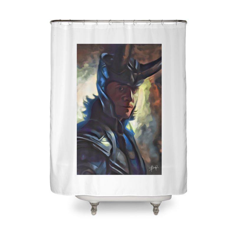 Marvel Loki Home Shower Curtain by EvoComicsInc's Artist Shop