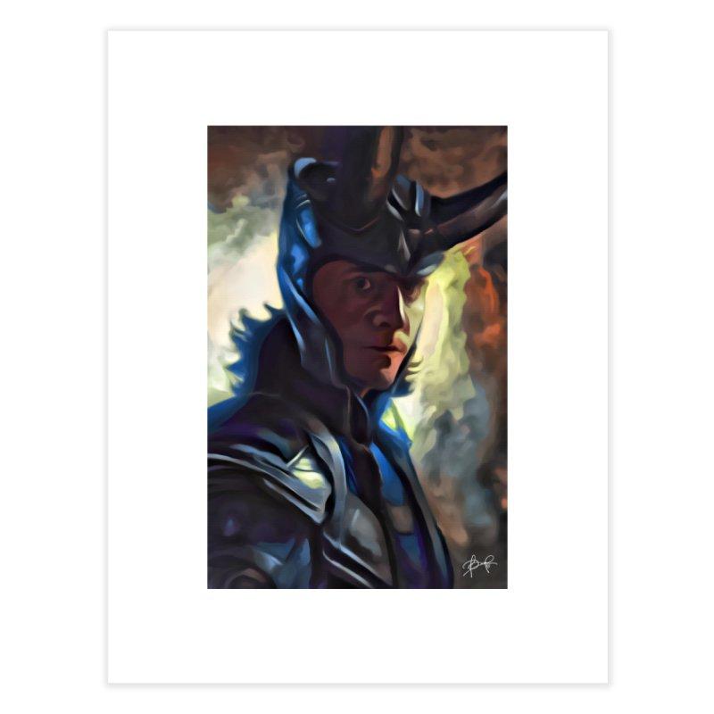 Marvel Loki Home Fine Art Print by EvoComicsInc's Artist Shop