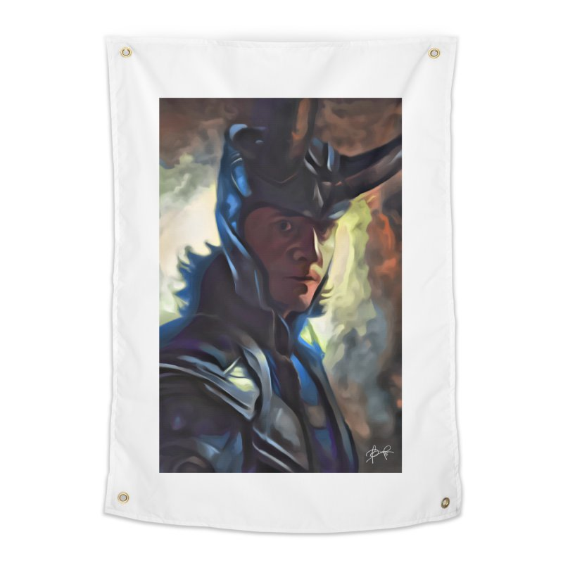 Marvel Loki Home Tapestry by EvoComicsInc's Artist Shop