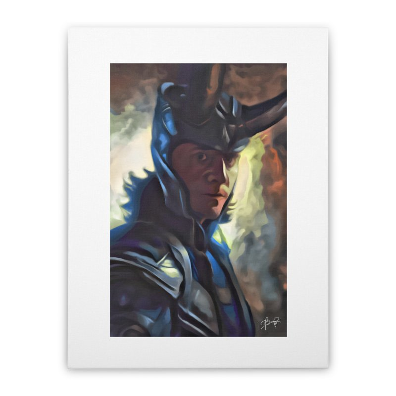 Marvel Loki Home Stretched Canvas by EvoComicsInc's Artist Shop