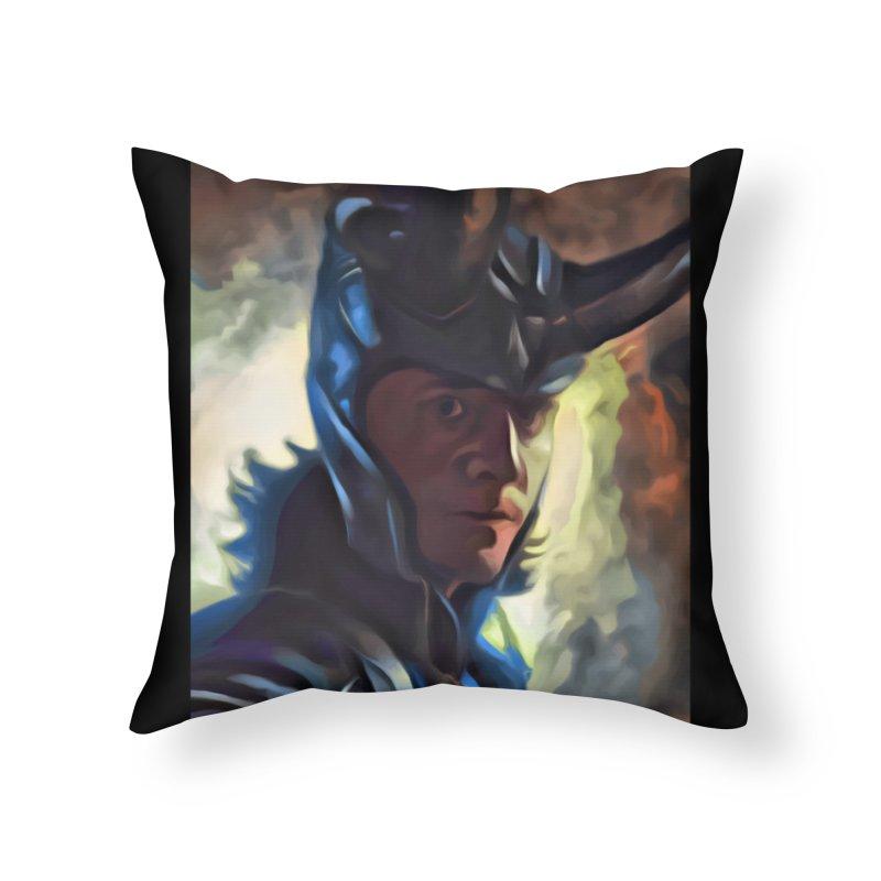 Marvel Loki Home Throw Pillow by EvoComicsInc's Artist Shop