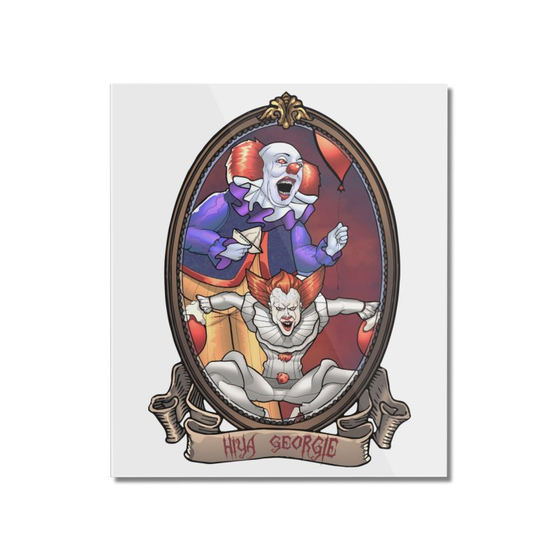 Hiya Georgie Home Mounted Acrylic Print by EvoComicsInc's Artist Shop
