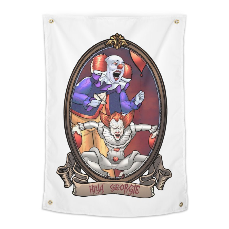 Hiya Georgie Home Tapestry by EvoComicsInc's Artist Shop