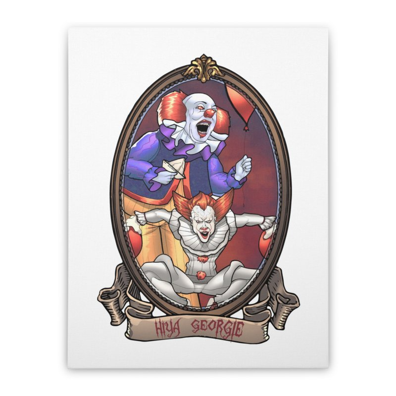 Hiya Georgie Home Stretched Canvas by EvoComicsInc's Artist Shop