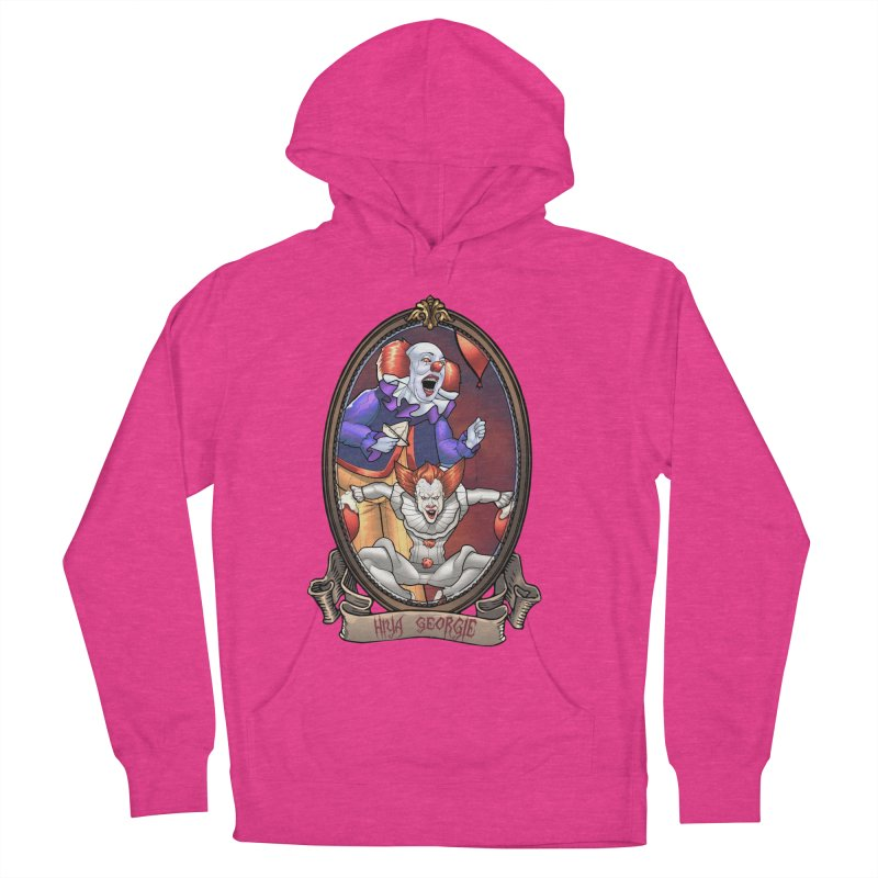 Hiya Georgie Men's French Terry Pullover Hoody by EvoComicsInc's Artist Shop