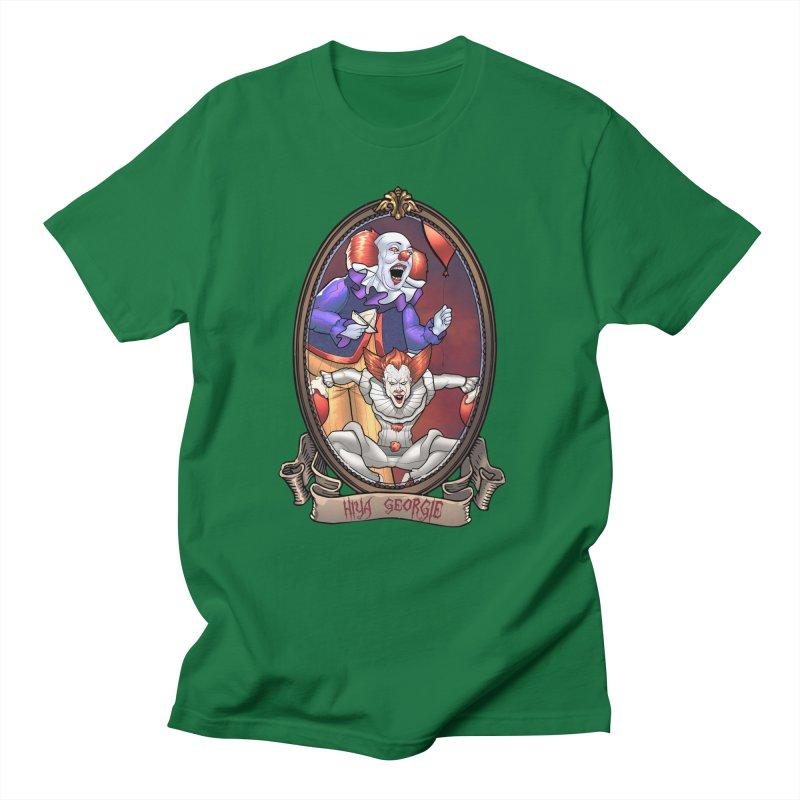 Hiya Georgie Men's T-Shirt by Evolution Comics INC