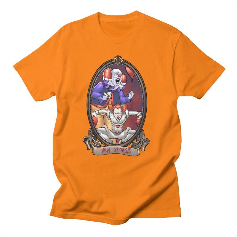 Hiya Georgie Men's Regular T-Shirt by EvoComicsInc's Artist Shop