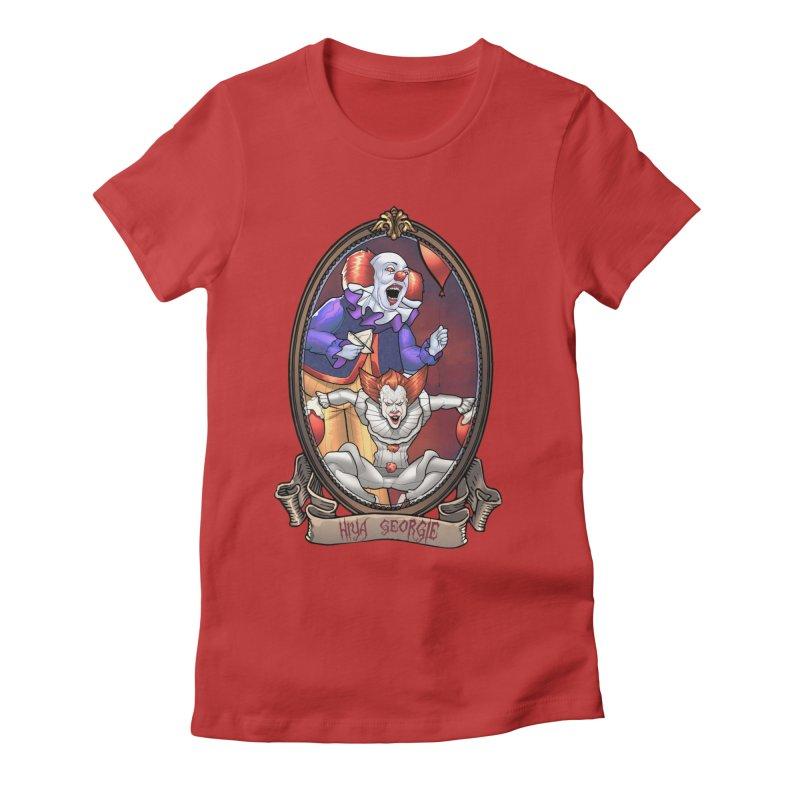 Hiya Georgie Women's Fitted T-Shirt by EvoComicsInc's Artist Shop