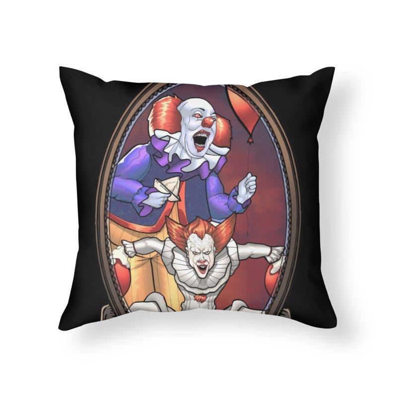 Hiya Georgie Home Throw Pillow by EvoComicsInc's Artist Shop