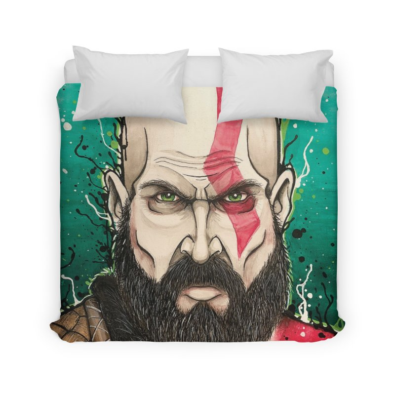 Kratos Home Duvet by EvoComicsInc's Artist Shop