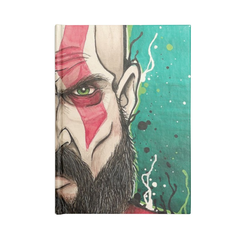 Kratos Accessories Notebook by EvoComicsInc's Artist Shop