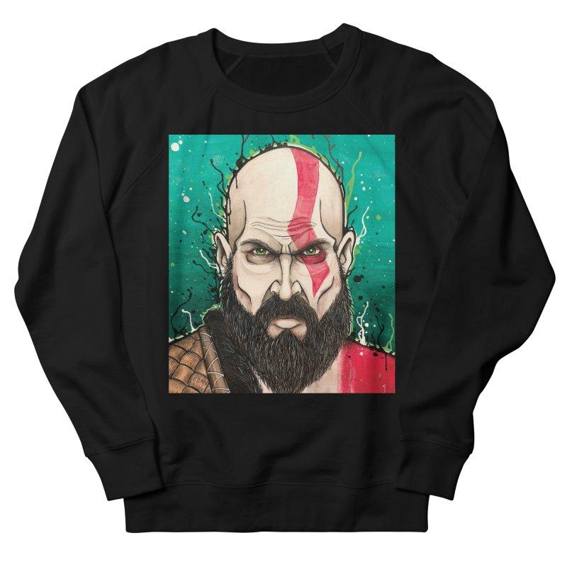 Kratos Women's French Terry Sweatshirt by EvoComicsInc's Artist Shop