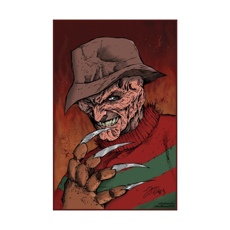 Freddy Krueger Accessories Bag by EvoComicsInc's Artist Shop