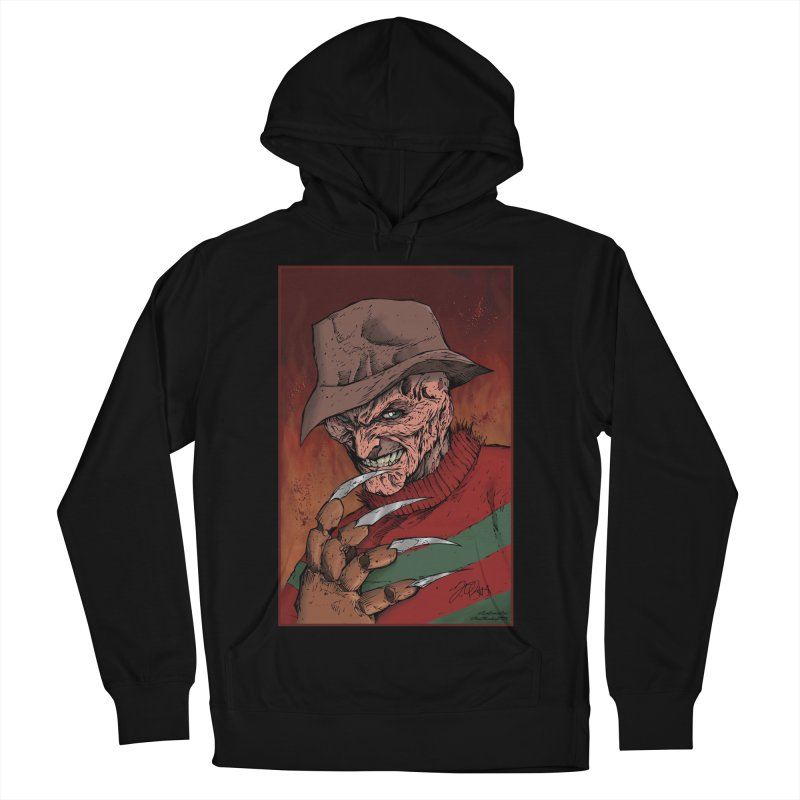 Freddy Krueger Men's French Terry Pullover Hoody by EvoComicsInc's Artist Shop