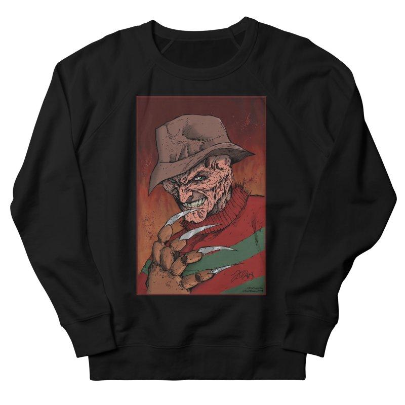 Freddy Krueger Women's French Terry Sweatshirt by EvoComicsInc's Artist Shop
